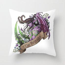 Betrayer Throw Pillow