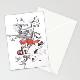 Elwood's Uncomfortable Stare Stationery Cards