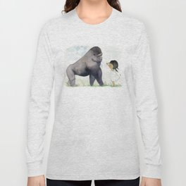 Hug me , Mr. Gorilla Long Sleeve T-shirt
