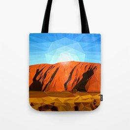 Uluru the Mighty Dreamer - Ayers Rock, Outback - Australia Tote Bag