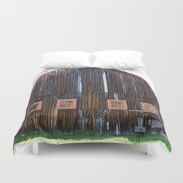 Rustic Old Country Barn Duvet Cover