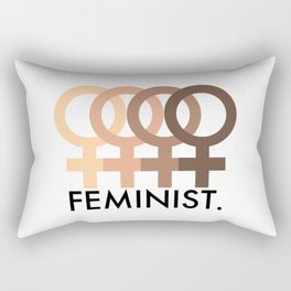FEMINIST. Rectangular Pillow