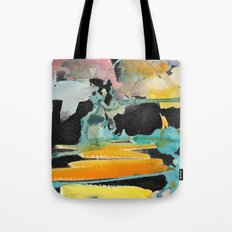 Abstract watercolour Tote Bag