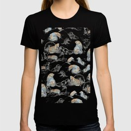 sketch of New zealand seals T-shirt