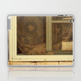 lace curtains in alacati Laptop & iPad Skin