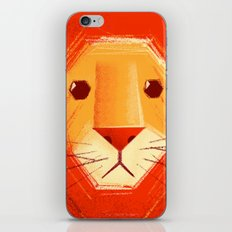 Sad lion iPhone & iPod Skin