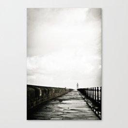English Pier Canvas Print