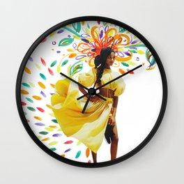 Summer Premonition Wall Clock
