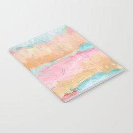 Abstract Watercolor - Design No.1 Notebook