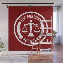 The Purpose Network (RED) Wall Mural