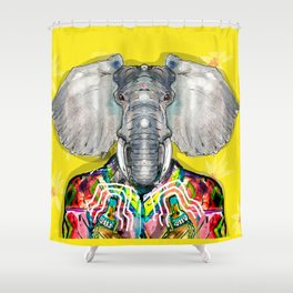 ELEPHAS Shower Curtain