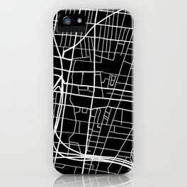 Northern Liberties Philly Map iPhone Case