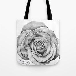 Rose Drawing Tote Bag