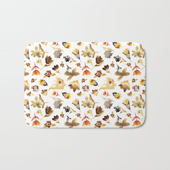 The beauty of dry flowers #2 Bath Mat