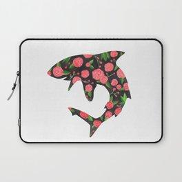 Floral Shark Laptop Sleeve