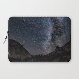 Perseid Over Sacagawea Peak Laptop Sleeve