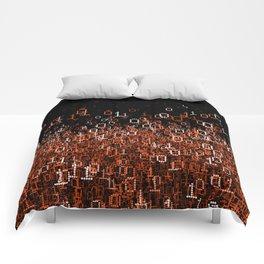 Binary Cloud II Comforters