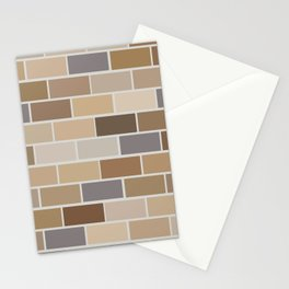 Kinda Brickish Stationery Cards