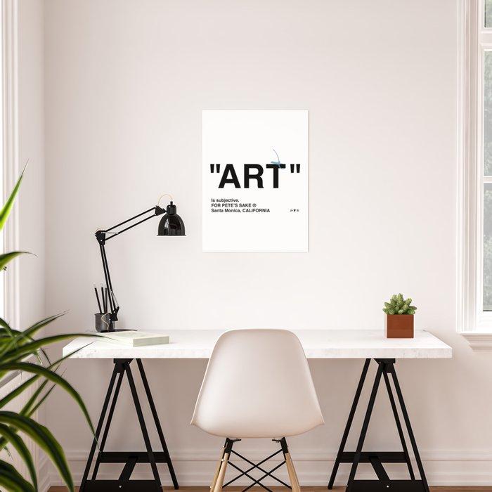"""ART"" Poster"