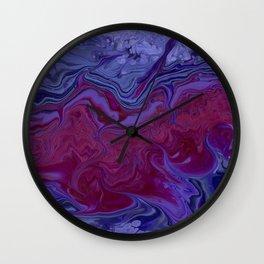 Purple Dragon Wall Clock