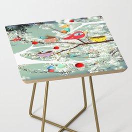 Vintage Whimsical Christmas Side Table