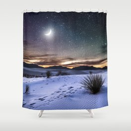 Estranged from you Shower Curtain