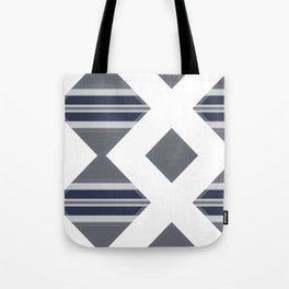 Bold Geometrical Modern Design Tote Bag