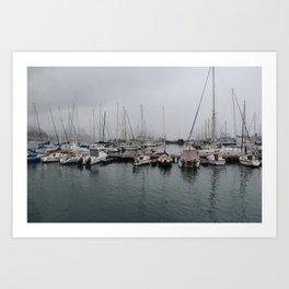 Simons Town - South Africa Art Print