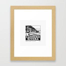 Cannero Riviera Framed Art Print