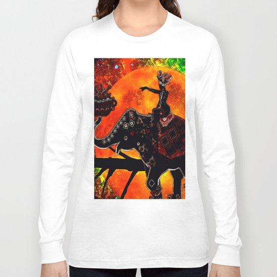 ELEPHANT JOURNEY Long Sleeve T-shirt