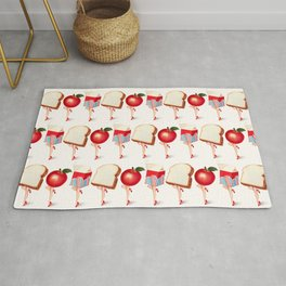 Lunch Ladies Pin-Ups Rug