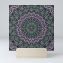 Warm evening , kaleidoscope Mini Art Print