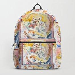 Cat Music Backpack