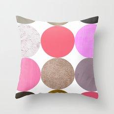 colour + pattern 24 Throw Pillow