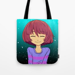 Undertale mercy or fight Tote Bag