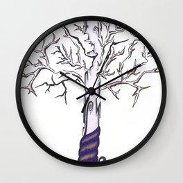 Tree 2 Wall Clock