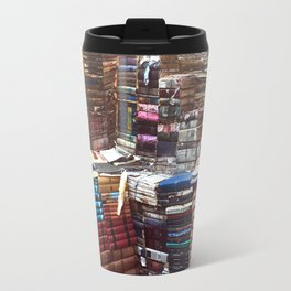 Bookworm Book Stacks Stairs of Knowledge Travel Mug