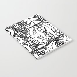 Nordic Floral Pattern Notebook