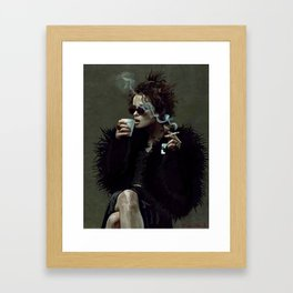 Marla Singer - Remaining Men Together Group Therapy Club - Fight Framed Art Print