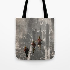 RUN THE TOWN Tote Bag