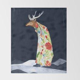 Wilder Mann - The Stag Throw Blanket