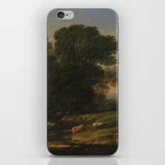 Landscape with Cephalus and Procris reunited by Diana - Claude iPhone & iPod Skin