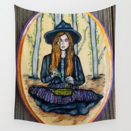 The Herbalist Wall Tapestry