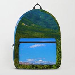 Views Along the Sulphur Skyline Trail in Jasper National Park, Canada Backpack