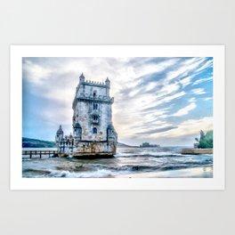Belém Tower, Lisbon (Portugal) Art Print