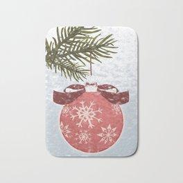Christmas Ball Bath Mat
