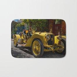 Vintage Gold Car Bath Mat