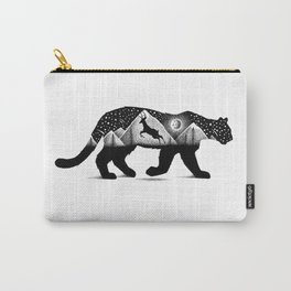 THE MOUNTAIN LION AND THE DEER Carry-All Pouch