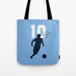 Argentina Número Diez Tote Bag