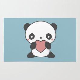 Kawaii Cute Panda Bear Rug